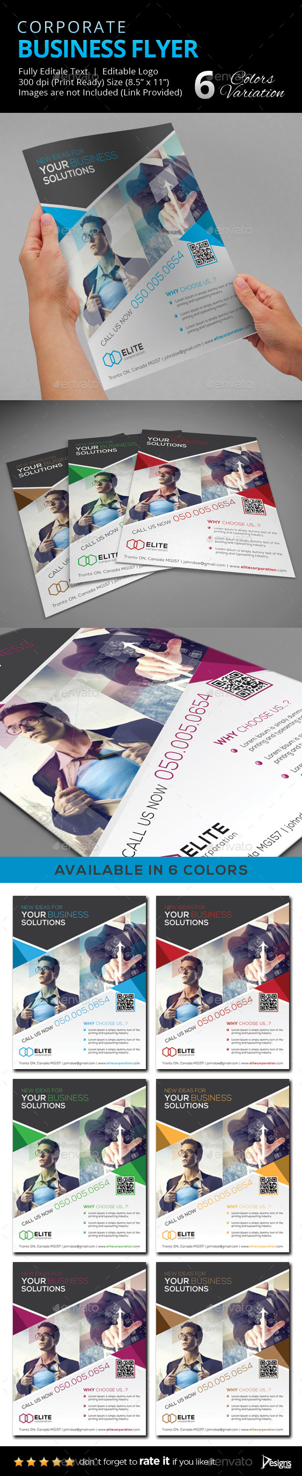 Flyer - Multipurpose Business Flyer 16 - Flyers Print Templates
