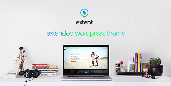 Extent – another WordPress theme