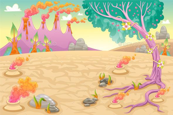 Prehistoric Landscape - Landscapes Nature