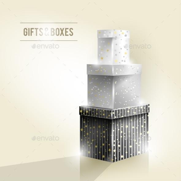 Gifts and Boxes - Christmas Seasons/Holidays