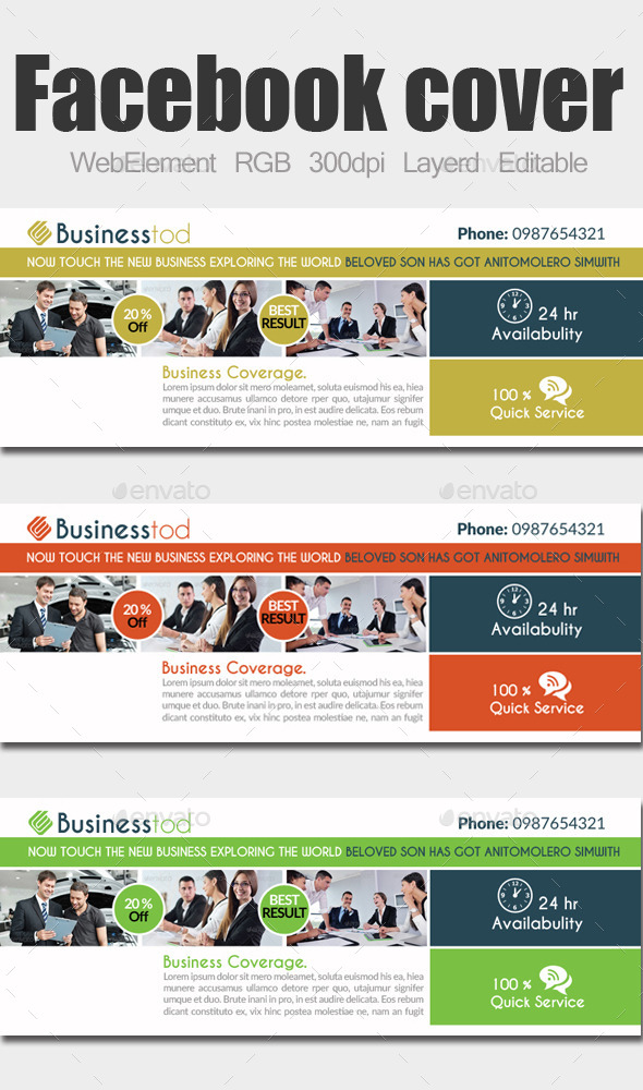 Multi Use Business Facebook Cover - Facebook Timeline Covers Social Media