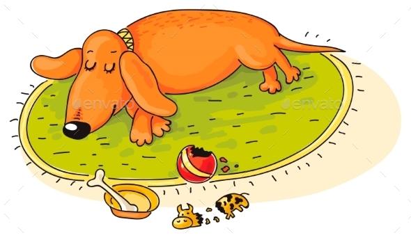 Dachshund - Animals Characters