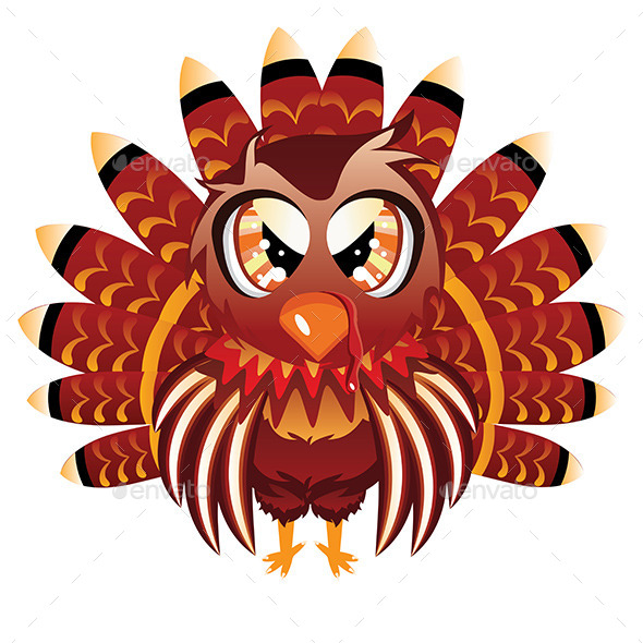 Turkey Bird - Animals Characters