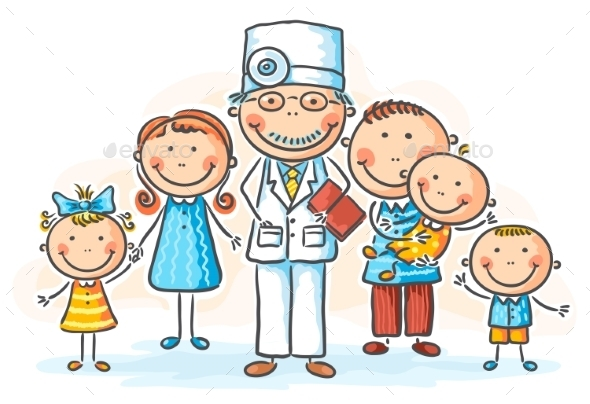 Family Doctor - People Characters