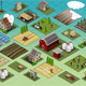 Isometric Farm Set Tiles - GraphicRiver Item for Sale