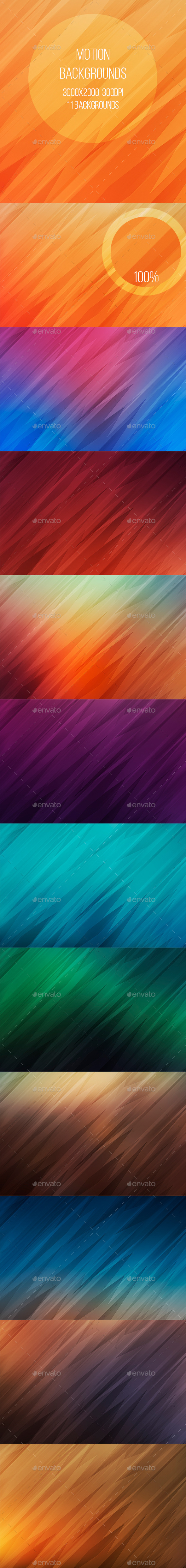Motion Backgrounds - Abstract Backgrounds