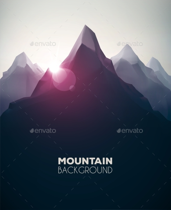 Mountain Background - Landscapes Nature