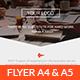 Clean & Flat Business Flyer - GraphicRiver Item for Sale