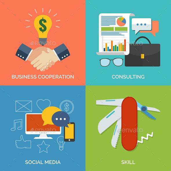 Business Concept - Vectors