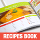Recipes Book - Horizontal Brochure Template - GraphicRiver Item for Sale