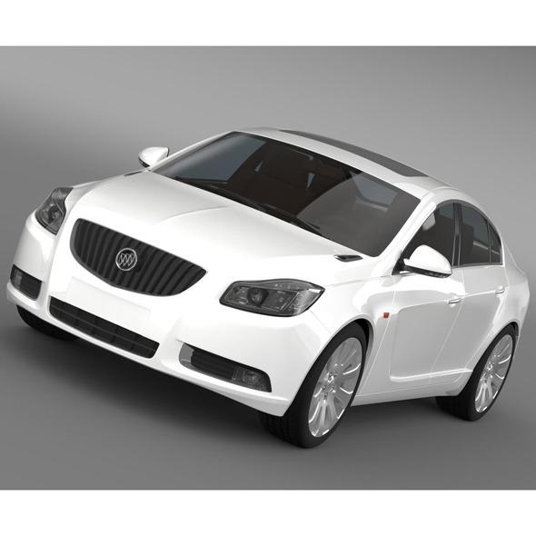 Buick Regal FlexFuel 2011-2013 - 3DOcean Item for Sale