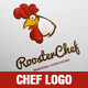 Rooster Chef Logo Illustration Template - GraphicRiver Item for Sale
