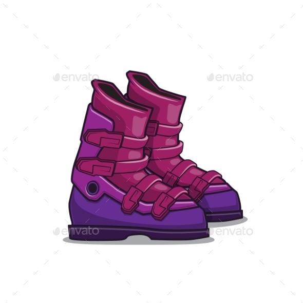 Ski Boots - Sports/Activity Conceptual