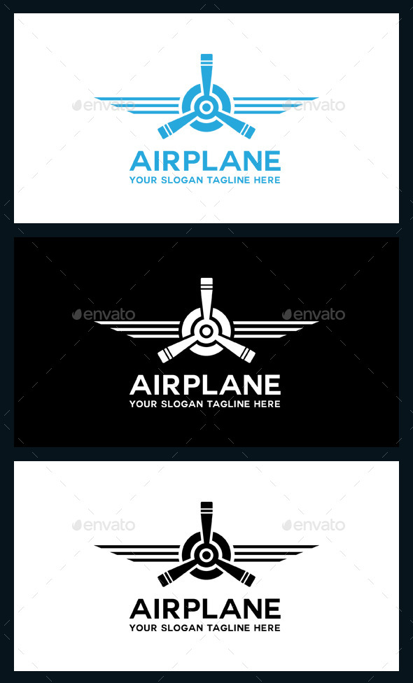 AirPlane Logo Template - Symbols Logo Templates