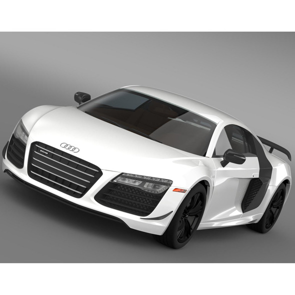 Audi R8 Competition 2015 - 3DOcean Item for Sale