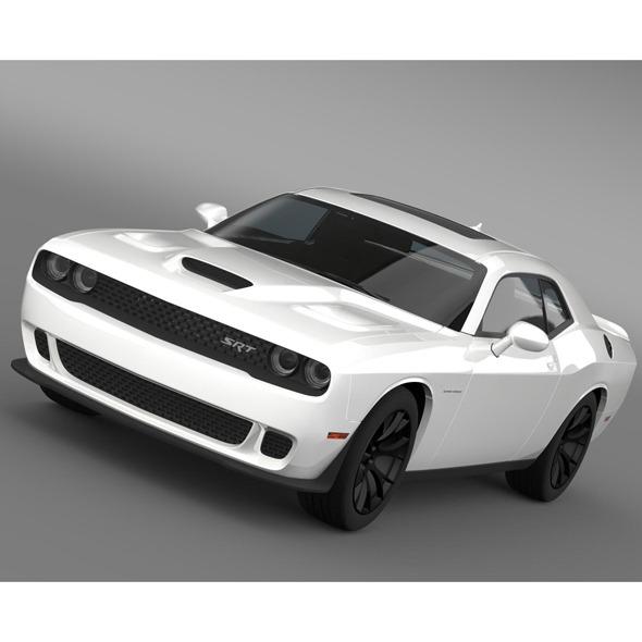 Dodge Challenger SRT Hellcat Supercharged 2015 - 3DOcean Item for Sale