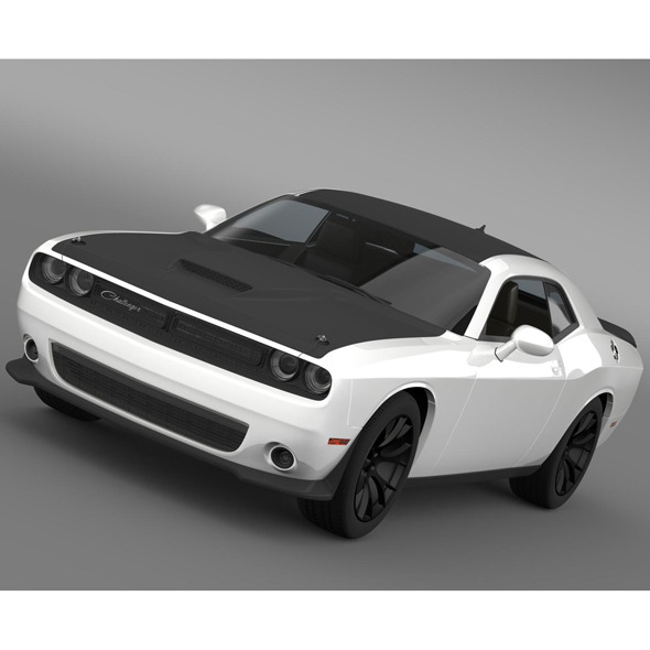 Dodge Challenger TA Concept LC 2014 - 3DOcean Item for Sale