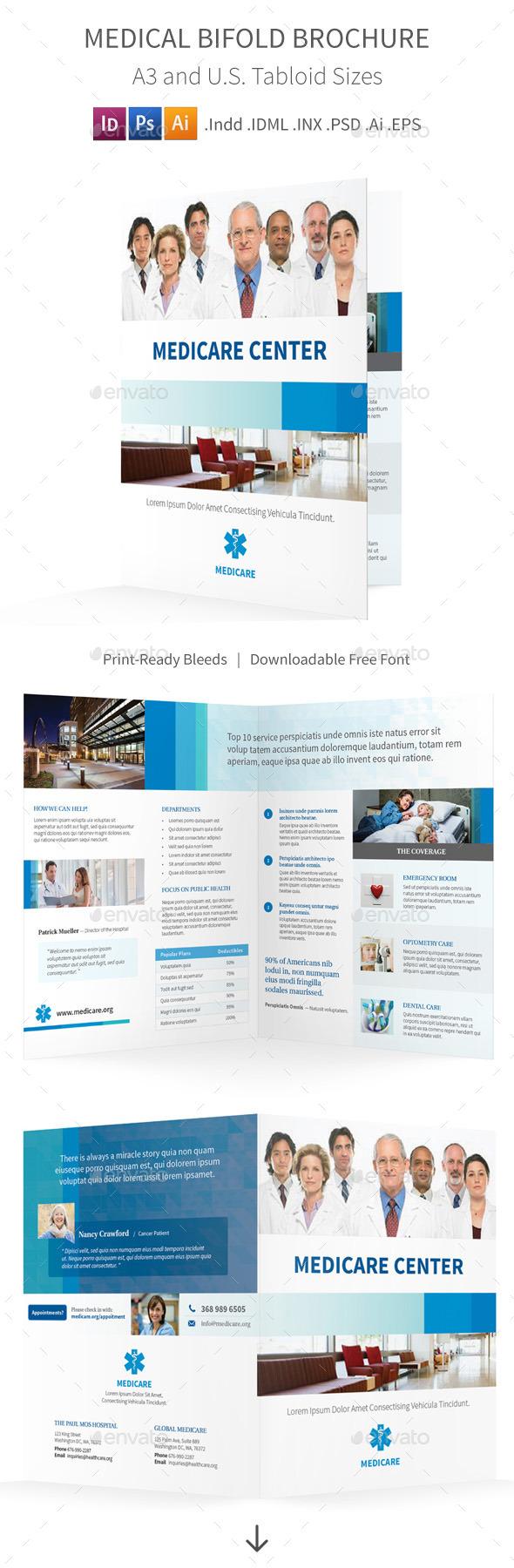 Medical Bifold Halffold Brochure - Informational Brochures
