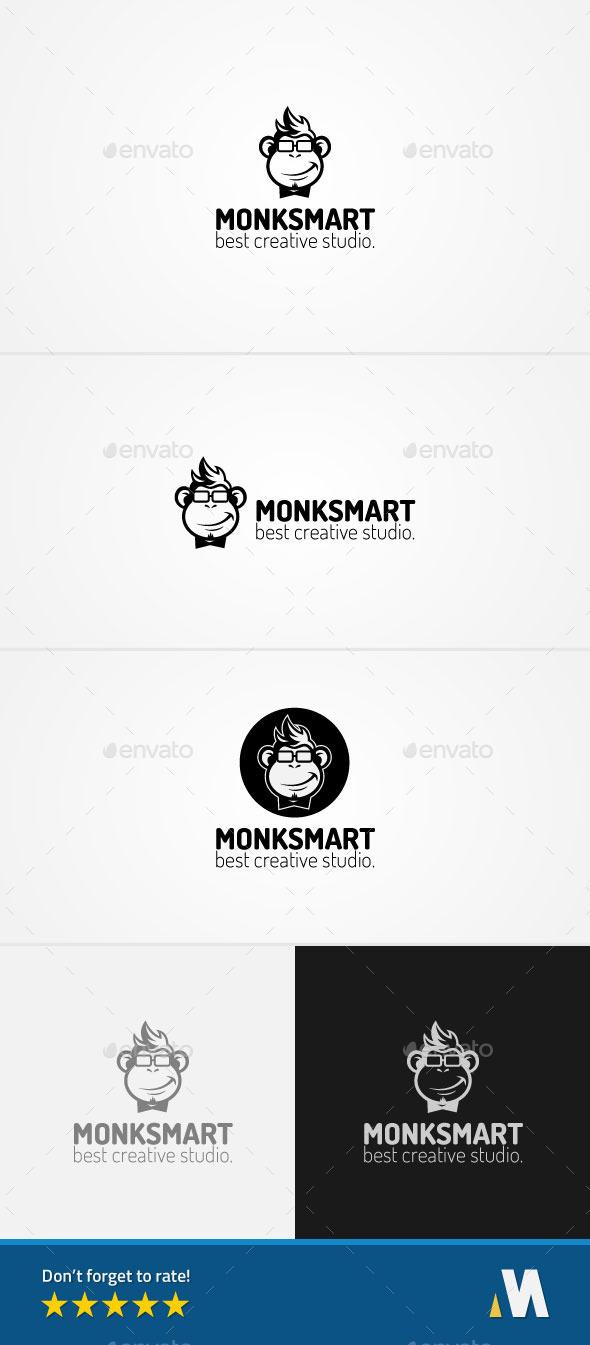 Smart Geek Monkey Creative Studio - Animals Logo Templates
