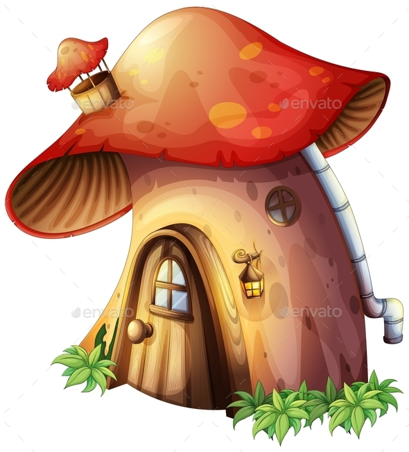 Mushroom House - Buildings Objects