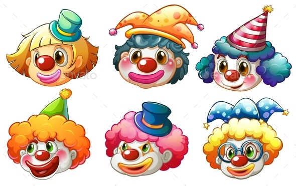Clowns - People Characters