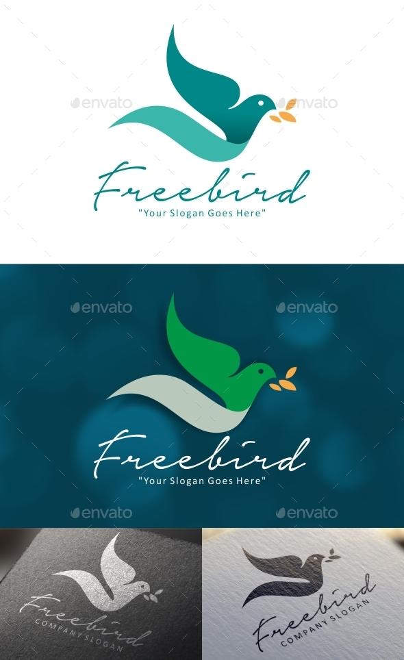 Freebird Logo - Animals Logo Templates