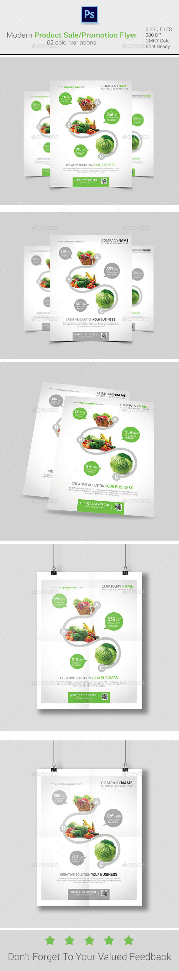 Product Sale/Promotion Flyer/Poster/ad Templates - Commerce Flyers