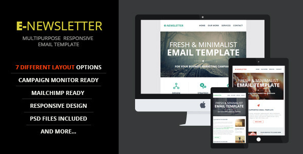 E-Newsletter - Multipurpose  Email Template - Email Templates Marketing