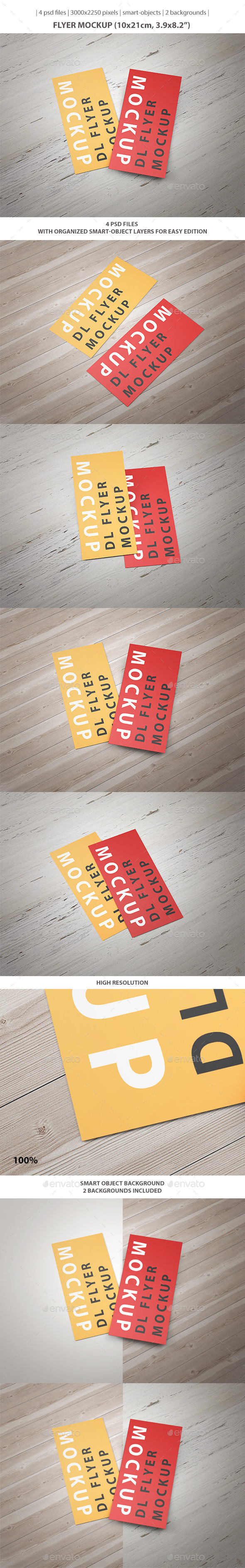 DL Flyer Mockup - Flyers Print