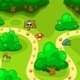 Forest Map - Game Scenario Select - GraphicRiver Item for Sale