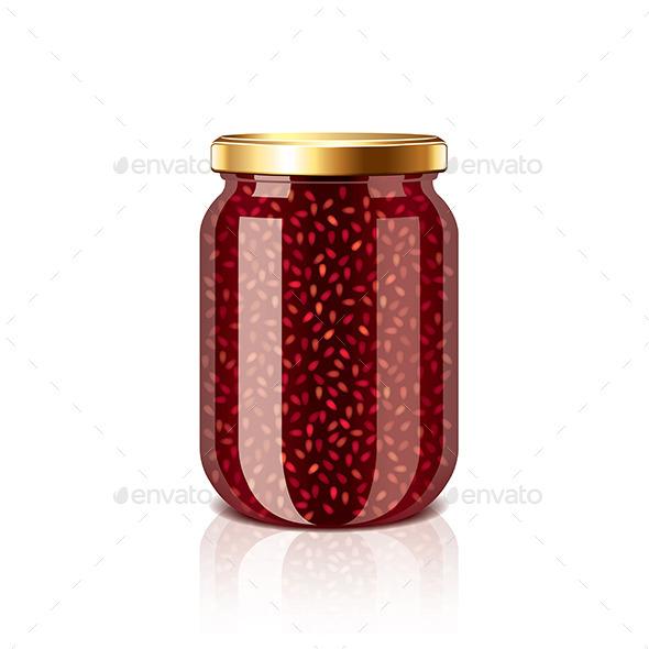 Jam Jar - Food Objects