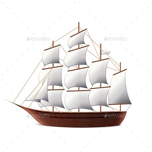 Sail Ship - Sports/Activity Conceptual