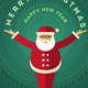 Santa Claus Greeting Design For Christmas - GraphicRiver Item for Sale