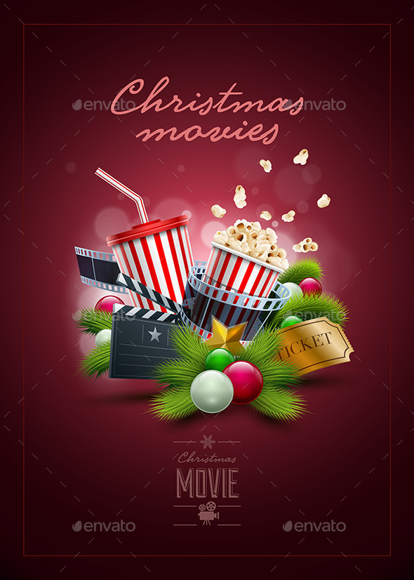 Christmas Movie Poster Design - Christmas Seasons/Holidays