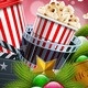 Christmas Movie Poster Design - GraphicRiver Item for Sale
