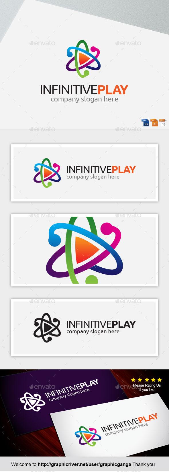 Infinivive play - Abstract Logo Templates