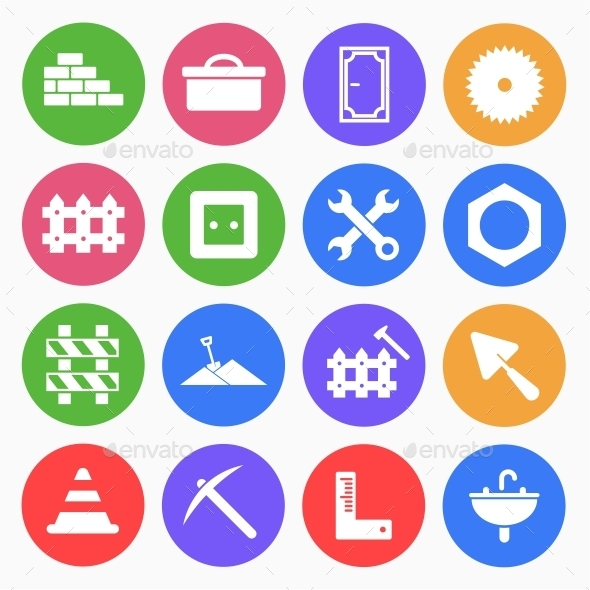 Construction Flat Icons (3) - Web Icons