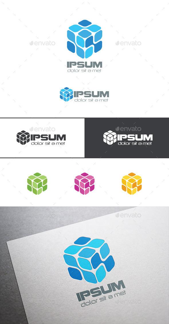Chip Logo Box DNA - Abstract Logo Templates