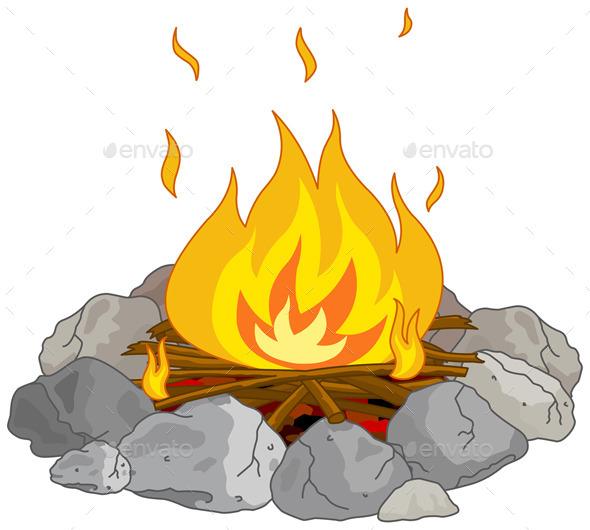 Campfire - Abstract Conceptual