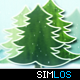 Wood Christmas Trees - VideoHive Item for Sale