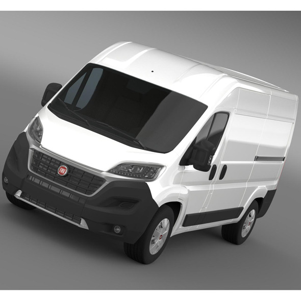 Fiat Ducato Van L2H2 2015 - 3DOcean Item for Sale
