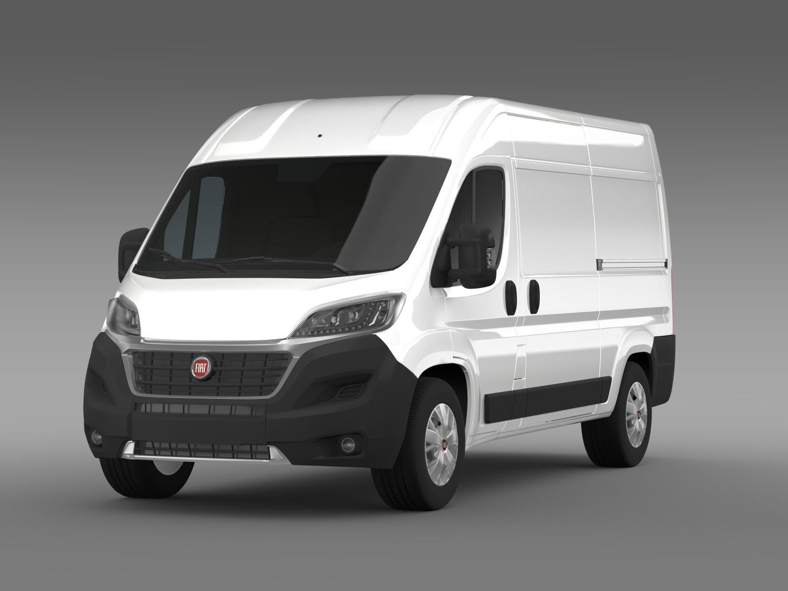 fiat ducato van l2h2 2015 by creator 3d 3docean. Black Bedroom Furniture Sets. Home Design Ideas