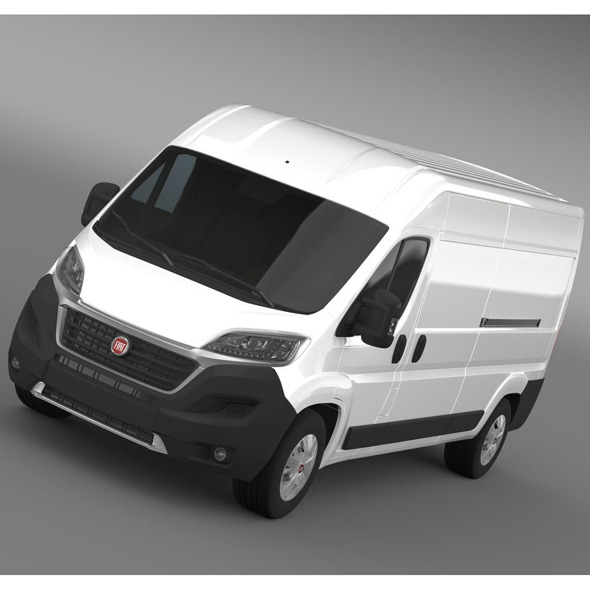 Fiat Ducato Van L3H2 2015 - 3DOcean Item for Sale