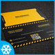 Hazardous Business Card Template 02 - GraphicRiver Item for Sale