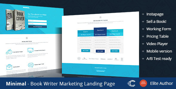 Minimal Instapage Landing Page - Instapage Marketing