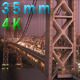 George Washington Bridge At Sundown - VideoHive Item for Sale