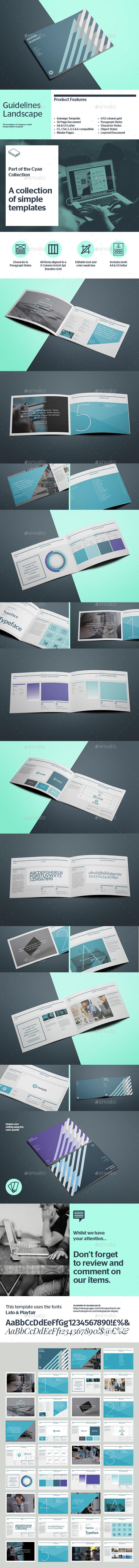 Brand Manual Horizontal - Informational Brochures