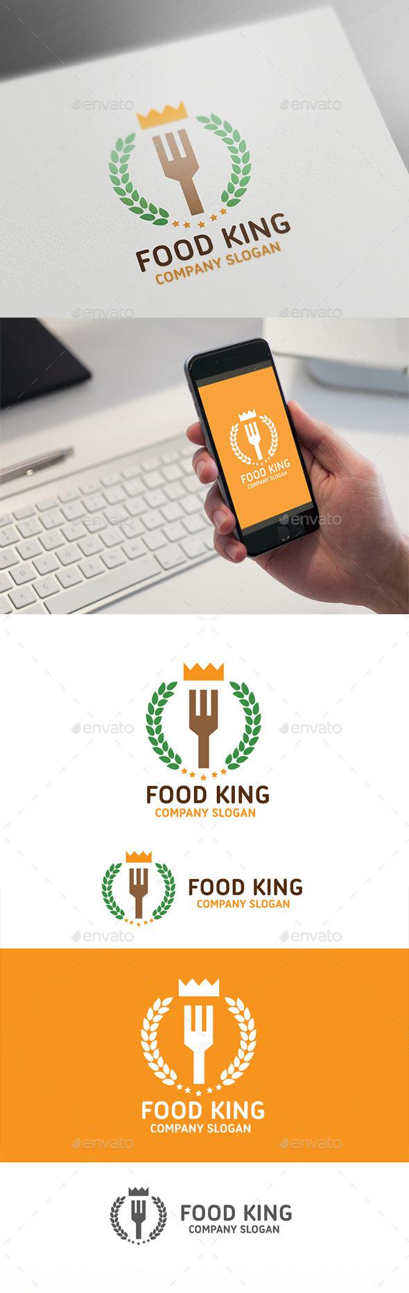 Food King - Food Logo Templates