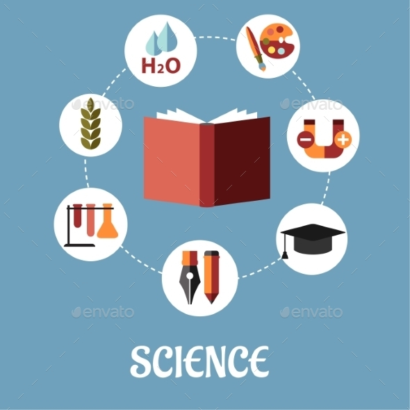 Education and Science Flat Design - Technology Conceptual