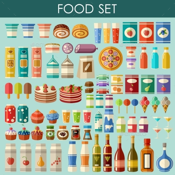 Food Set.  - Retail Commercial / Shopping